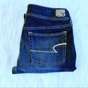 American Eagle Kick Boot Jeans size 14
